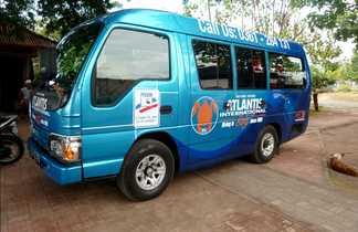 Les minibus nous permettent d'élargir le terrain de jeux