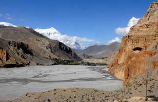 Les Nilgiris, vu depuis le Haut Mustang