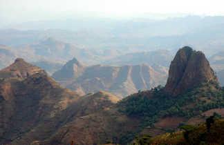 Les paysages impressionnants du parc national du Simien en Ethiopie