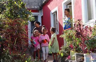 Les rencontres dans les villages du Cap Vert