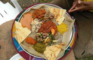 L'ingera, galette éthiopienne