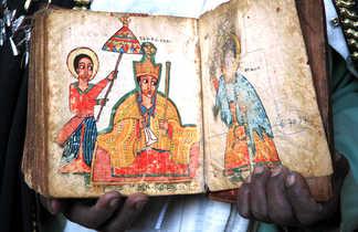 Livre religieux en Ethiopie