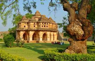 Lotus Mahal à Hampi, Karnataka