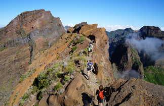 Madère, randonnée dans les Picos