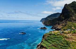 Magnifique vue sur l'océan depuis Madère