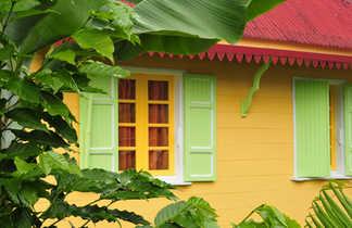 Maison typique à Hellbourg, la Réunion