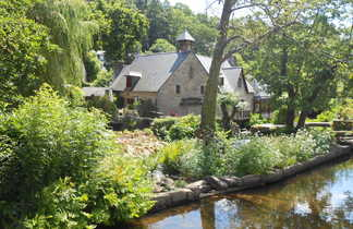 Maison typique de Cornouaille en Bretagne