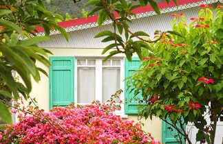 Maisons typiques de Hellbourg, la Reunion