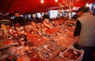 Marché au poisson de Catane, Sicile