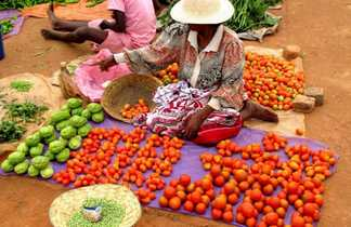 Marché coloré malgache