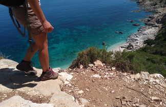 Marche vers la mer en Sardaigne