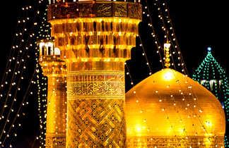 Mausolée d'Imam Reza à Mashhad