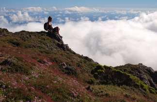 Mer de nuages aux Açores