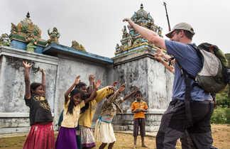 Moments inoubliables de rencontre dans un village sri lankais