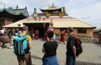 Mongolie Monastère à Olan Bator