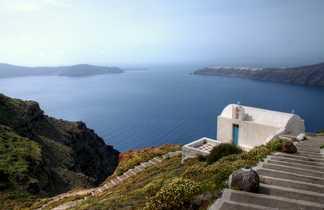 Grèce, Cyclades, Amorgos, monastère d'Agios Ioannis