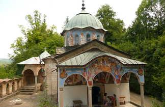 Monastère de Batchkovo au pied des Rhodopes