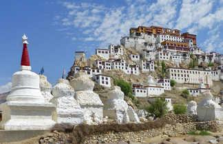 Monastère de Thiksey au Ladakh