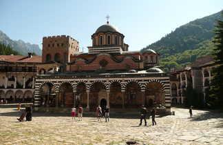 Monastère du Rila dans le massif du Rila