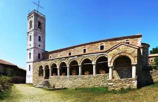 Monastère orthodoxe d'Ardenica en Albanie