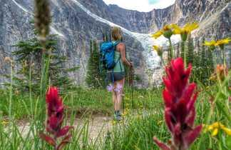 Mont Edith dans le parc national de Jasper, Rocheuses