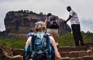 Montée-au-rocher-du-lion-Sigiria-Sri-Lanka