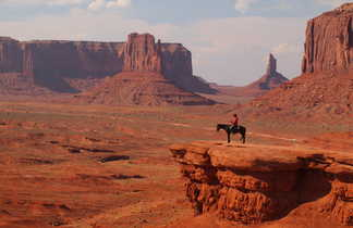 Monument valley, ouest américain