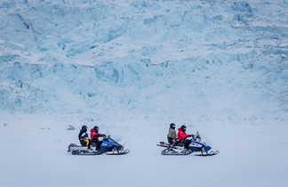 Motoneige au Groenland