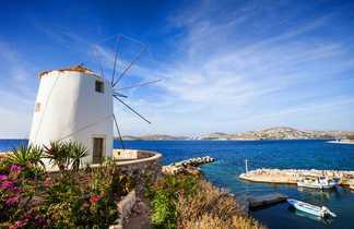 Moulin à Parikia, sur l'île de Paros