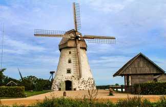 Moulin, Lettonie