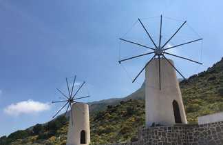 Moulins à Lassithi Crète