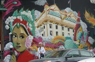 Murs peints, Chinatown, San Francisco