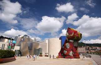 Musée Guggenheim à Bilbao dans le pays basque espagnol