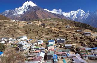 Namche Bazar, sur le chemin du camp de base de l'Everest