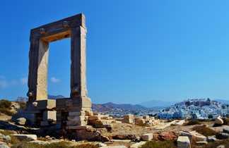 Naxos temple Appollon