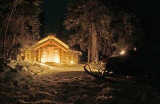 Nuit en chalet en Finlande