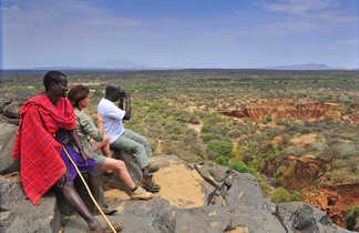 Observation avec les Masaï