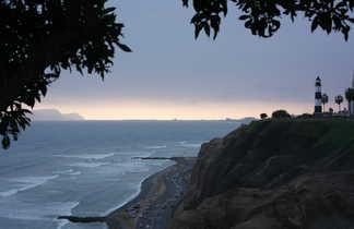 Océan quartier miraflores à Lima