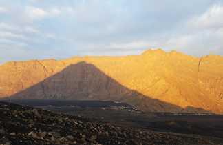 Ombre portée du volcan Fogo