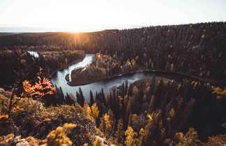 Parc Oulanka voyage Finlande rando