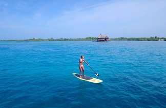 Paddle au large de l'île de Múcura