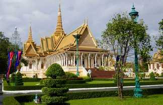 Palais Royal Phnom Penh au Cambodge