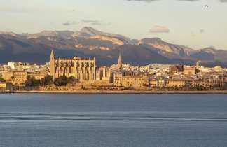 Palma de Majorque depuis la mer