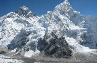 Panorama sur le massif de l'Everest, depuis le Kala Pattar
