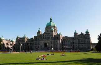 Parlement de la Colombie Britannique à Victoria, Ouest Canada