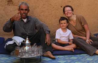 Pause thé chez l'habitant, Maroc