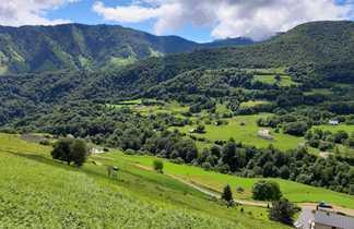 Paysage de la Vallée d'Aspe