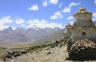 Paysage du Zanskar vers Padum