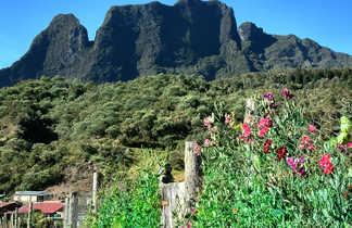 En arrivant à Marla, Mafate, la Réunion