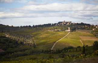 Paysage en Toscane